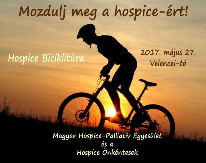 Hospice Biciklitúra MHPE Hospice Önkéntesek 2017