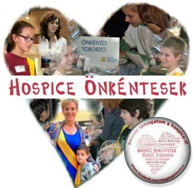 hospice volunteers heart montage
